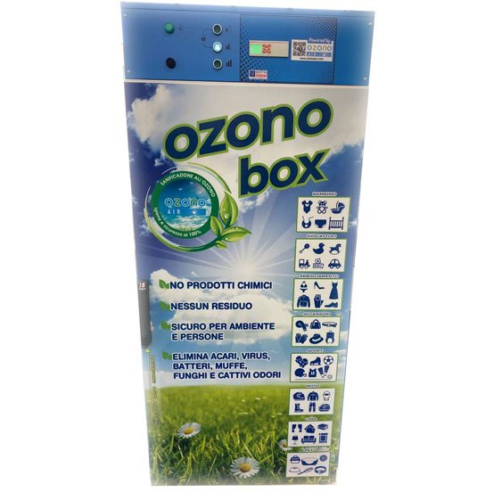 cabina sanificatrice ad ozono