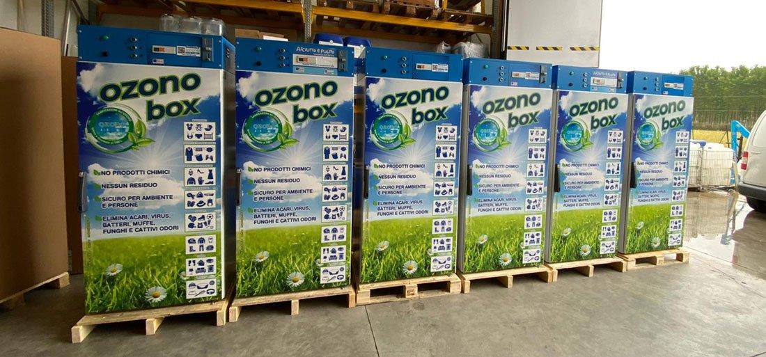 cabine Ozono Box pronta consegna